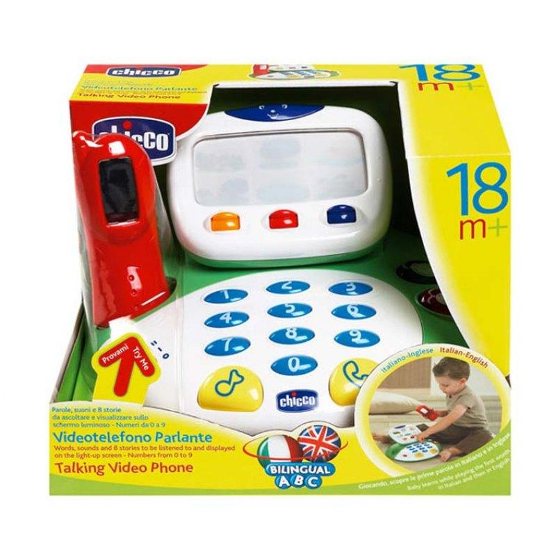 Videotelefono parlante chicco massa giocattoli for Chicco cucina parlante