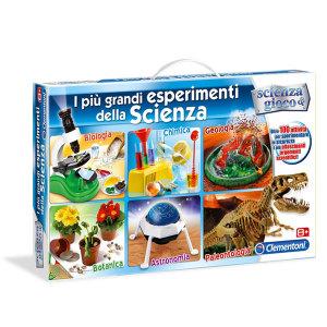 Esperimenti della Scienza Clementoni Massa Giocattoli
