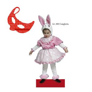 Costume Carnevale Baby Coniglietta De Rita | Massa Giocattoli