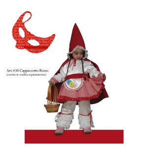 Costume Carnevale Cappuccetto Rosso De Rita | Massa Giocattoli