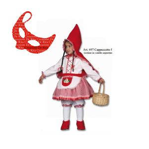 Costume Carnevale Cappuccetto Rosso | Massa Giocattoli
