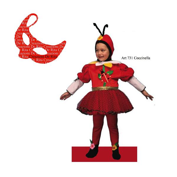 moda di lusso qualità affidabile nuove immagini di Costume Carnevale Coccinella De Rita