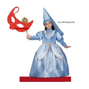 Costume Carnevale Fata Turchina De Rita | Massa Giocattoli