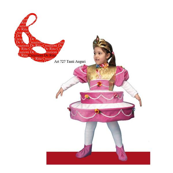 comprare scaricare la consegna miglior sito Costume Carnevale Torta De Rita