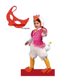 Costume Carnevale Paperina De Rita | Massa Giocattoli
