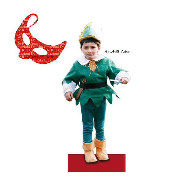 nuovo stile di vita scarpe di separazione goditi la spedizione in omaggio Costume Carnevale Peter Pan De Rita