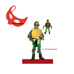 Tartaruga Ninja Creazioni De Rita | Massa Giocattoli