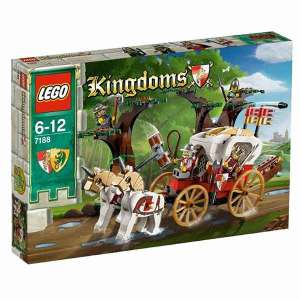 Lego Kingdoms 7188 Carrozza del Re | Massa Giocattoli