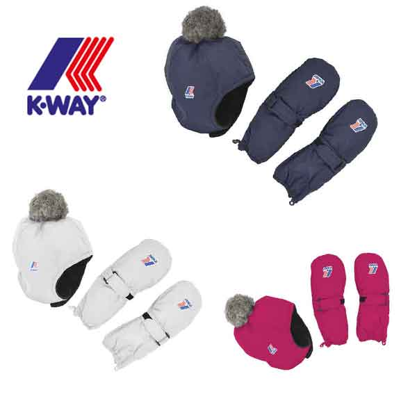 Set Cappello Guanti KWay