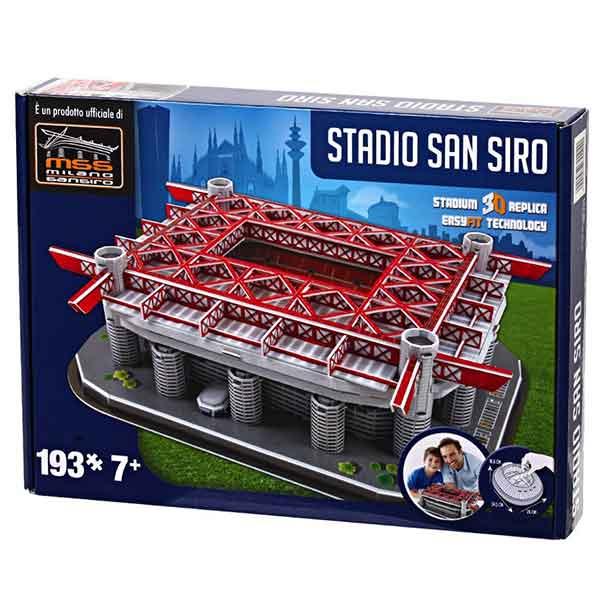 Stadio San Siro Inter Nanostad Puzzle 3D
