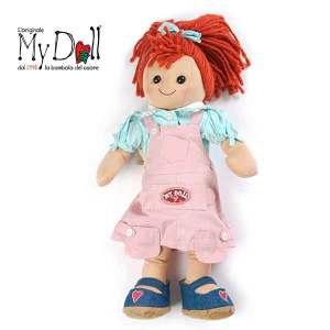 My Doll Salopette Rosa BP008 | Massa Giocattoli