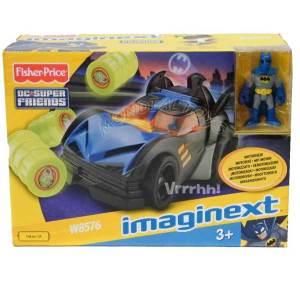Imaginext Batmobile Fischer-Price |Massa Giocattoli