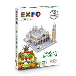 Expo Basilica San Marco Puzzle 3D Massa Giocattoli