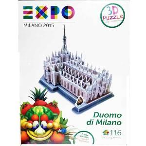 Expo Duomo di Milano Puzzle 3D Massa Giocattoli