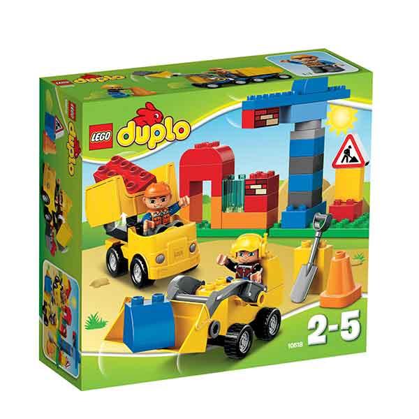Lego Duplo 10518 Il Mio Primo Cantiere