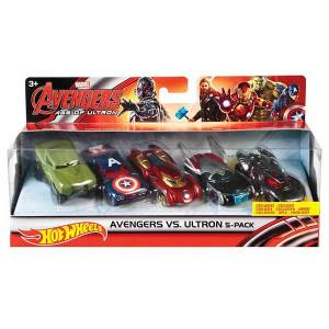 Hot Wheels Avengers 5 Pack Marvel| Massa Giocattoli