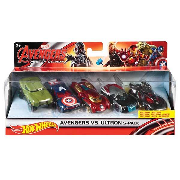 Hot Wheels Avengers 5 Pack Marvel