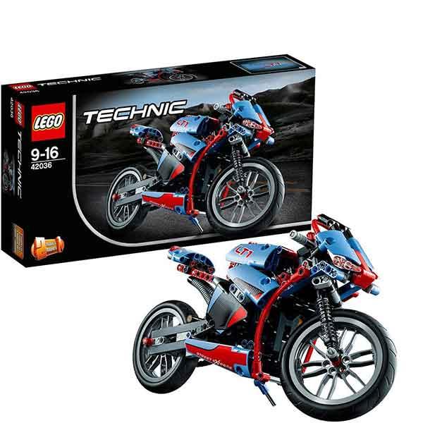 lego technic 42036 super moto massa giocattoli. Black Bedroom Furniture Sets. Home Design Ideas