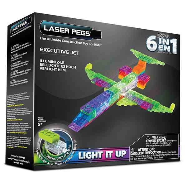 LASER PEGS Aereo 6 in 1