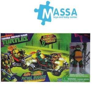 Turtles Buggy Con Personaggio | Massa Giocattoli