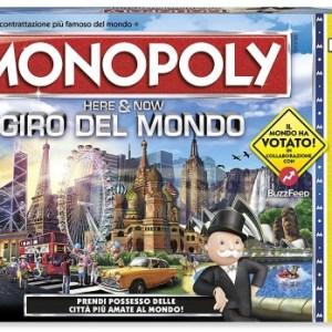 Monopoli Giro Del Mondo| Massa Giocattoli