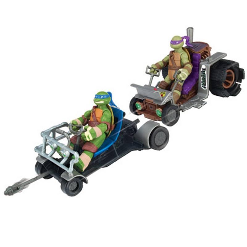 Turtles buggy con personaggio massa giocattoli