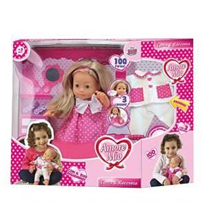 Bambola Amore Mio Canta e Racconta | Massa Giocattoli