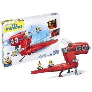 Minions Supervillain Jet Mega Bloks | Massa Giocattoli
