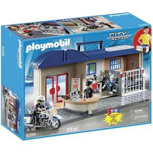Centrale Della Polizia Portatile Playmobil | Massa Giocattoli