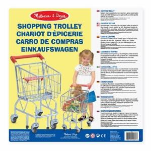 Shopping Trolley Melissa e Doug   Massa Giocattoli