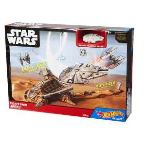 Hot Wheels Star Wars Fuga da Jakku Set | Massa Giocattoli
