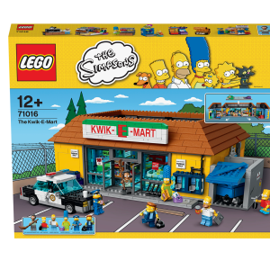Lego The Simpsons 71016 Jet Market | Massa Giocattoli