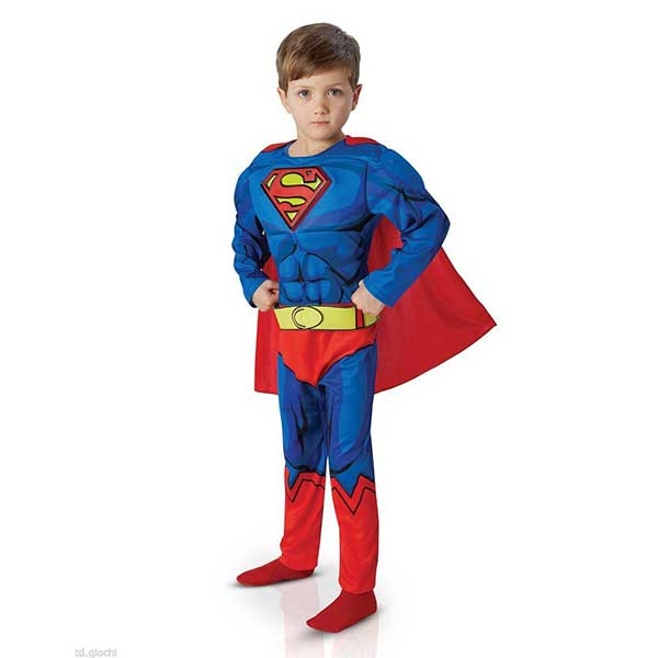 Costume Carnevale Supereroe Superman