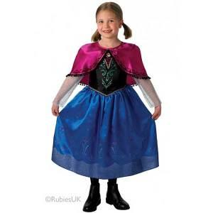 Costume Carnevale Anna Deluxe Frozen | Massa Giocattoli