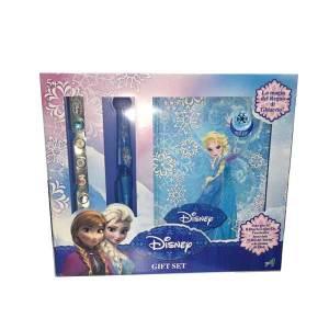 Gift Set Diario Penna Bracciale Frozen | Massa Giocattoli