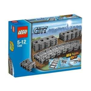 Binari Flessibili e Rettilinei Lego City 7499 | Massa Giocattoli