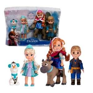 Set 5 Mini Personaggi Frozen | Massa Giocattoli