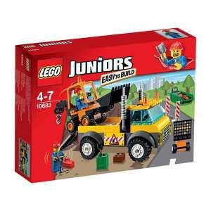 Lego Juniors 10683 Camion Dei Lavori Stradali | Massa Giocattoli