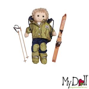 My Doll Bambolo Sciatore   Massa Giocattoli