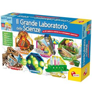 Il Grande Laboratorio delle Scienze Lisciani | Massa Giocattoli