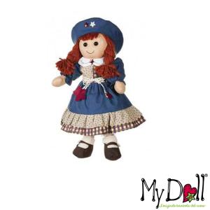 My Doll Vestito Blu Con Cappello | Massa Giocattoli