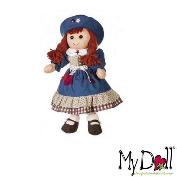 My Doll Vestito Blu Con Cappello Best Friends