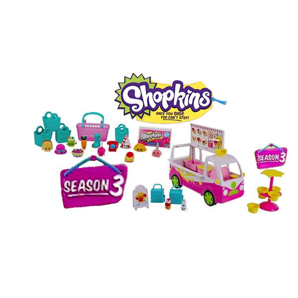 Shopkins Set 5 Personaggi