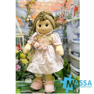 My Doll Vestito Quadretti Rosa e Bianco | Massa Giocattoli