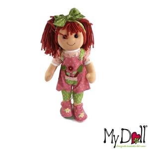 My Doll Salopet Rosa Taschina Strumenti Lavoro | Massa Giocattoli