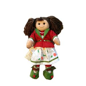 My Doll Bambola Elf con Casacca e Gonna | Massa Giocattoli