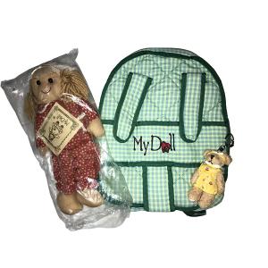 Zainetto Porta Bambola Verde My Doll | Massa Giocattoli