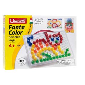 Quercetti 0955 - Fantacolor Portable Large | Massa Giocattoli
