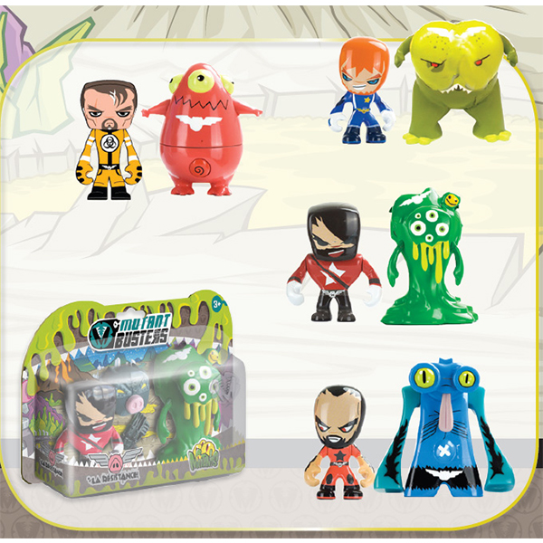 Mutant Busters Action Pack Resistenza