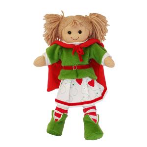 My Doll Bambola Elf Con Mantello e Gonna Cuori | Massa Giocattoli